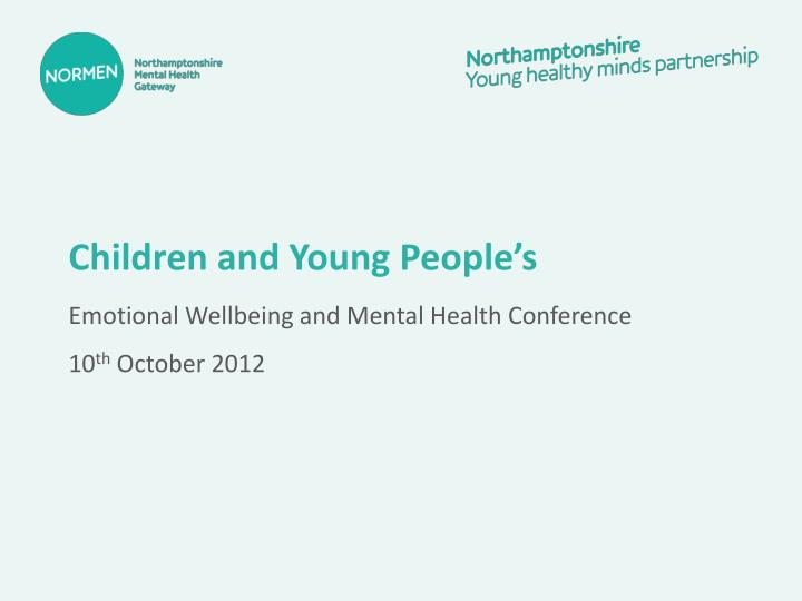 Children and Young People's
