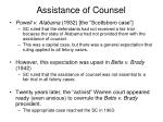 assistance of counsel12