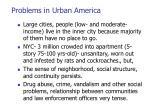problems in urban america