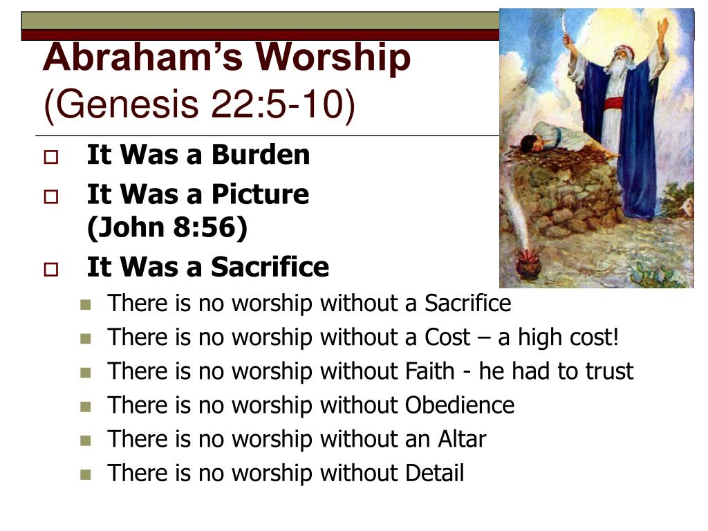 Abraham's Worship