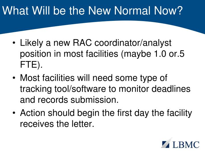 What Will be the New Normal Now?
