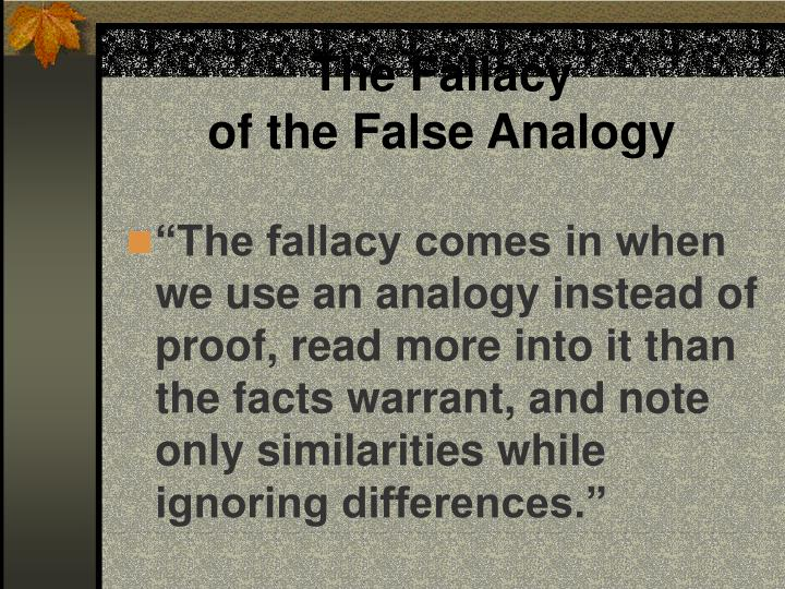 The Fallacy