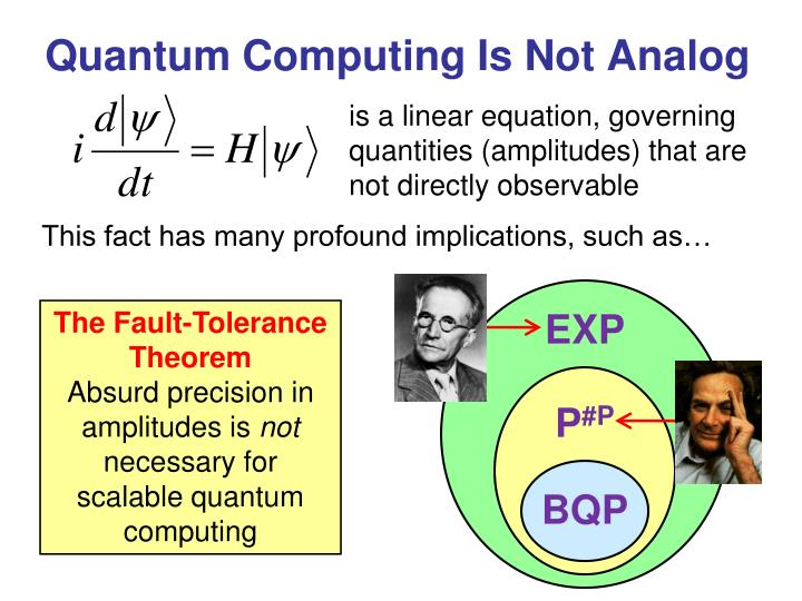 architectures for scalable quantum computation essay The quantum architectures and computation group (quarc) is a team of leading quantum computer scientists and engineers dedicated to developing real-world quantum algorithms, understanding their implications, and designing a comprehensive software architecture for programming such algorithms on a scalable, fault-tolerant, quantum computer.