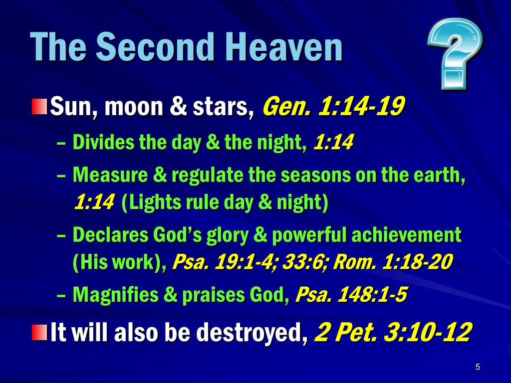 The Second Heaven