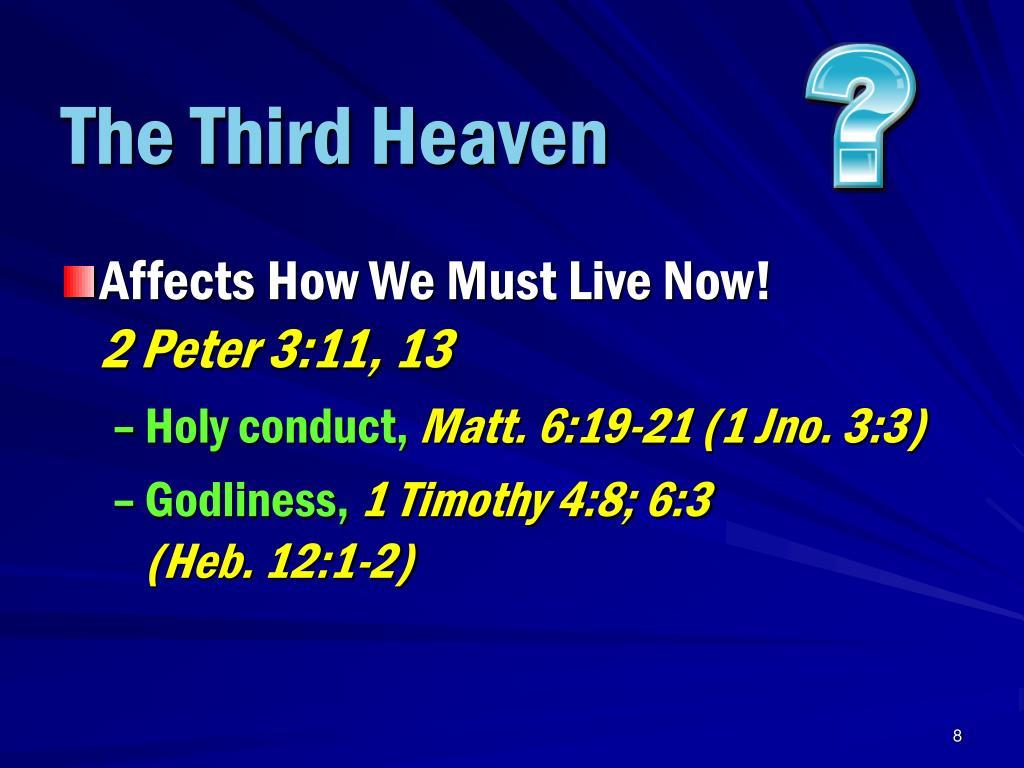 The Third Heaven