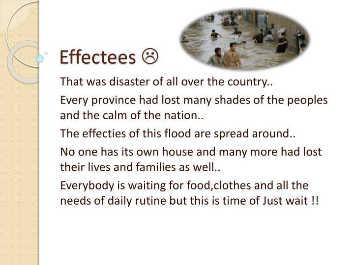 Effectees