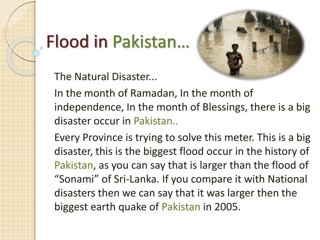 flood in pakistan l.