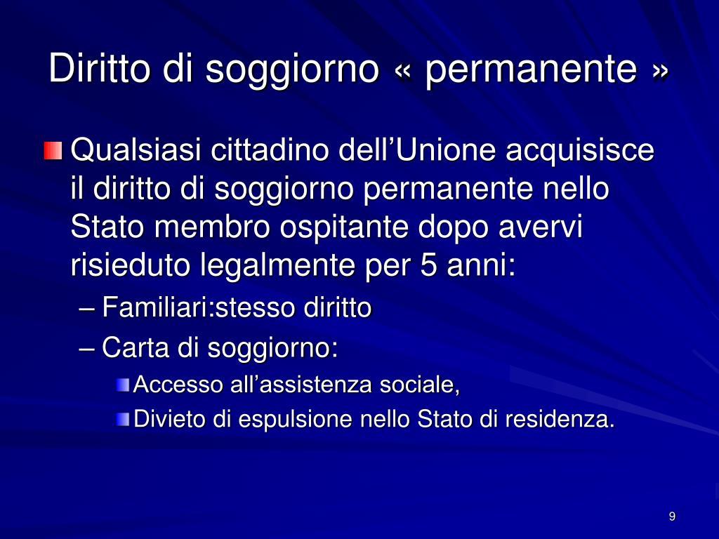 PPT - LA LIBERA CIRCOLAZIONE DEGLI SPORTIVI NELL'UNIONE ...