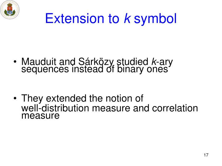 Extension to