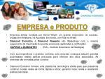 empresa e produto