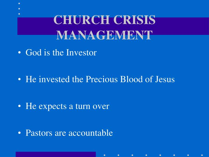 Church crisis management3