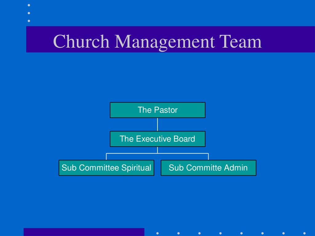 Church Management Team