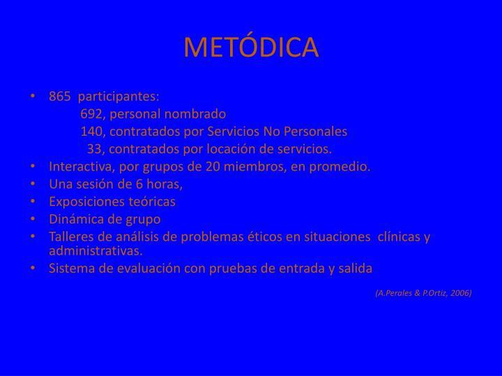 METÓDICA