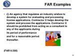 far examples7