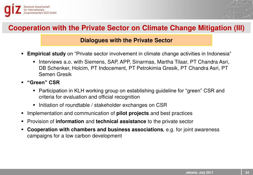 """PPT - KADIN – PAKLIM Briefing k """"Business and Climate Change"""