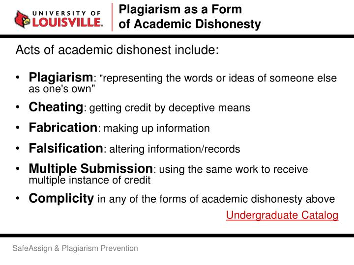 academic dishonesty essay article According to academic essay about dishonesty, plagiarism is a misconduct that involves someone wrongfully taking another persons work like ideas.