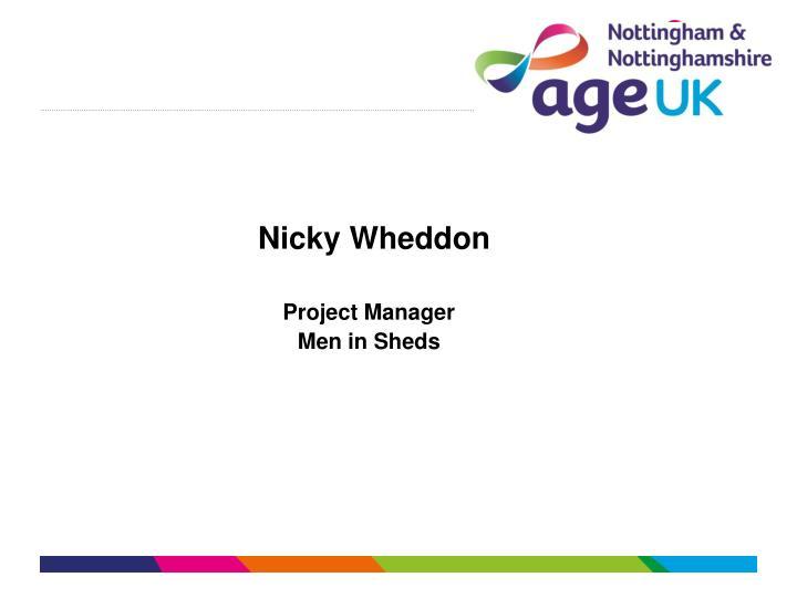 Nicky Wheddon