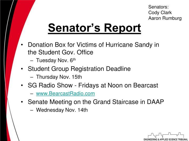 Senators: