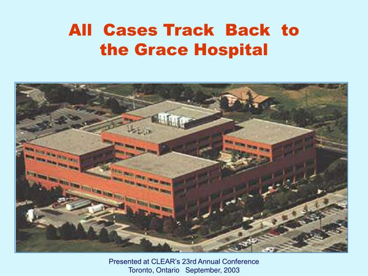 All  Cases Track  Back  to