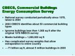 cbecs commercial buildings energy consumption survey
