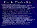 example tmaproofobject1