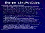 example tmaproofobject2