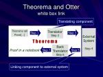 theorema and otter white box link