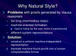 why natural style