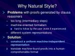 why natural style1