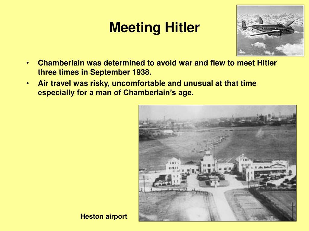 Meeting Hitler