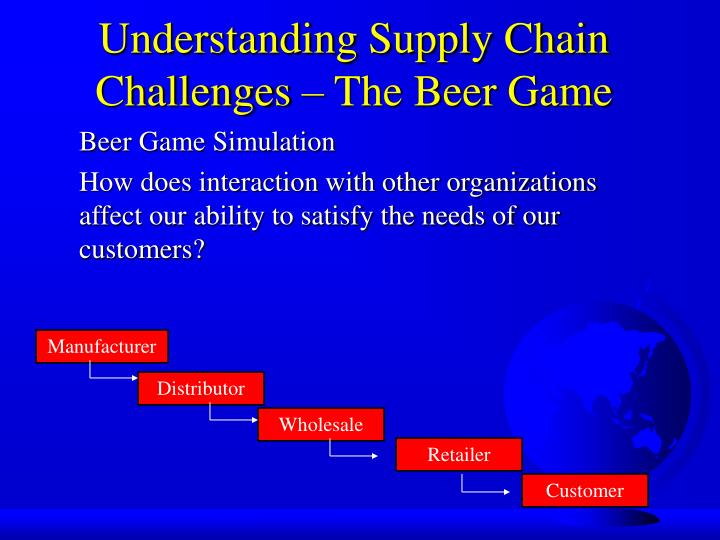 understanding the customer and supply chain uncertainty essay Read this essay on managing uncertainty in a supply  understanding of basic  role of supply chain management in creating customer.
