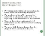 explicit instruction direct instruction