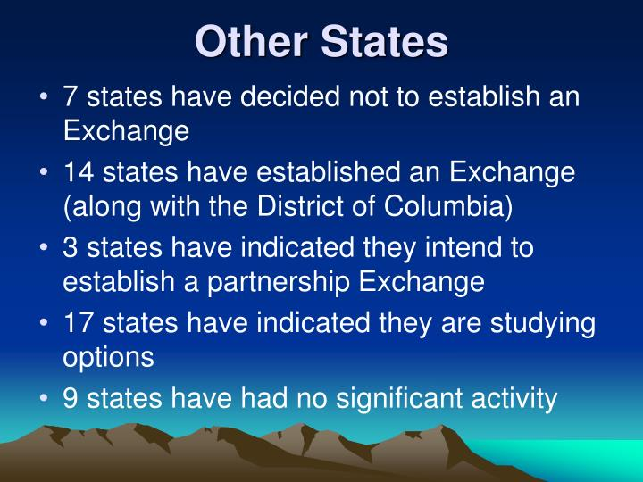 Other States