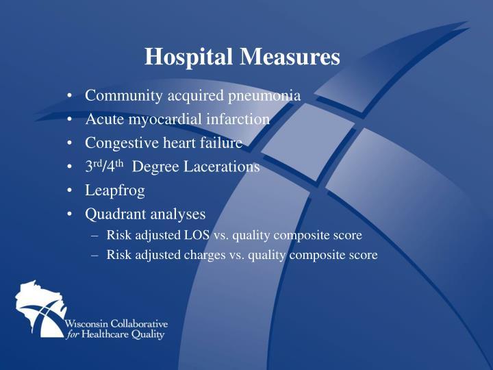 Hospital Measures
