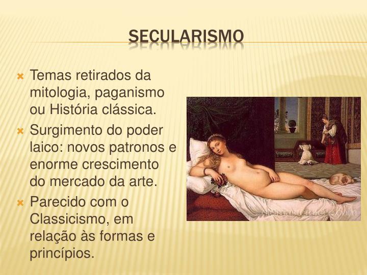 Secularismo