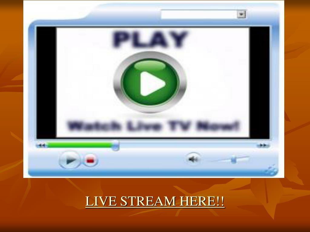 live stream here l.