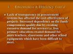 4 effectiveness efficiency cont d