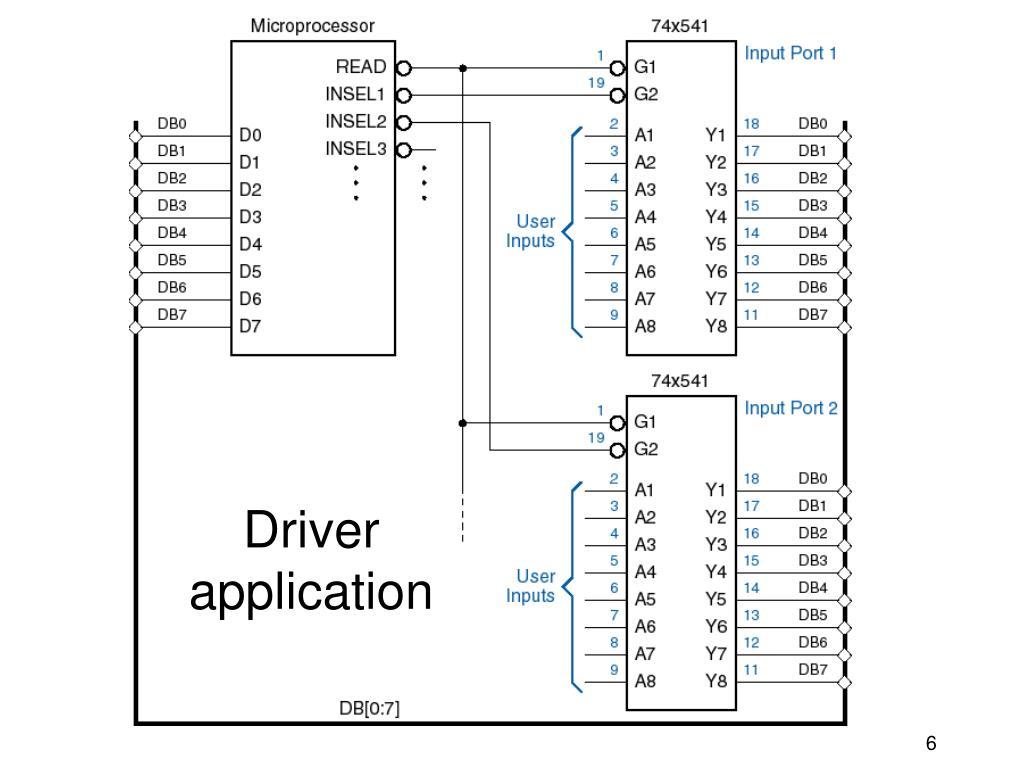 Driver application