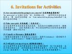 6 invitations for activities3