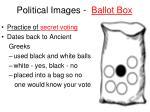 political images ballot box