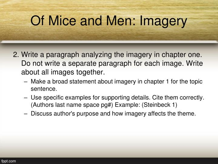 themes in of mice and men essay Free essay on loneliness in of mice and men available totally free at echeatcom, the largest free essay community themes: steinbeck's of mice and men.
