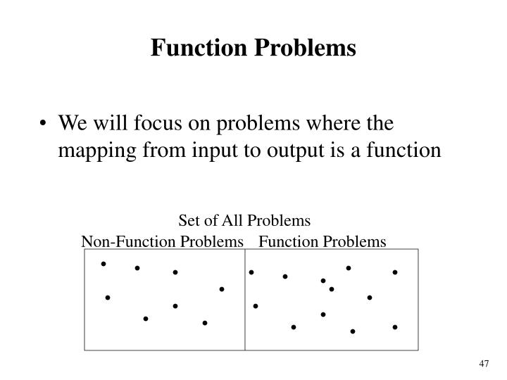 Set of All Problems