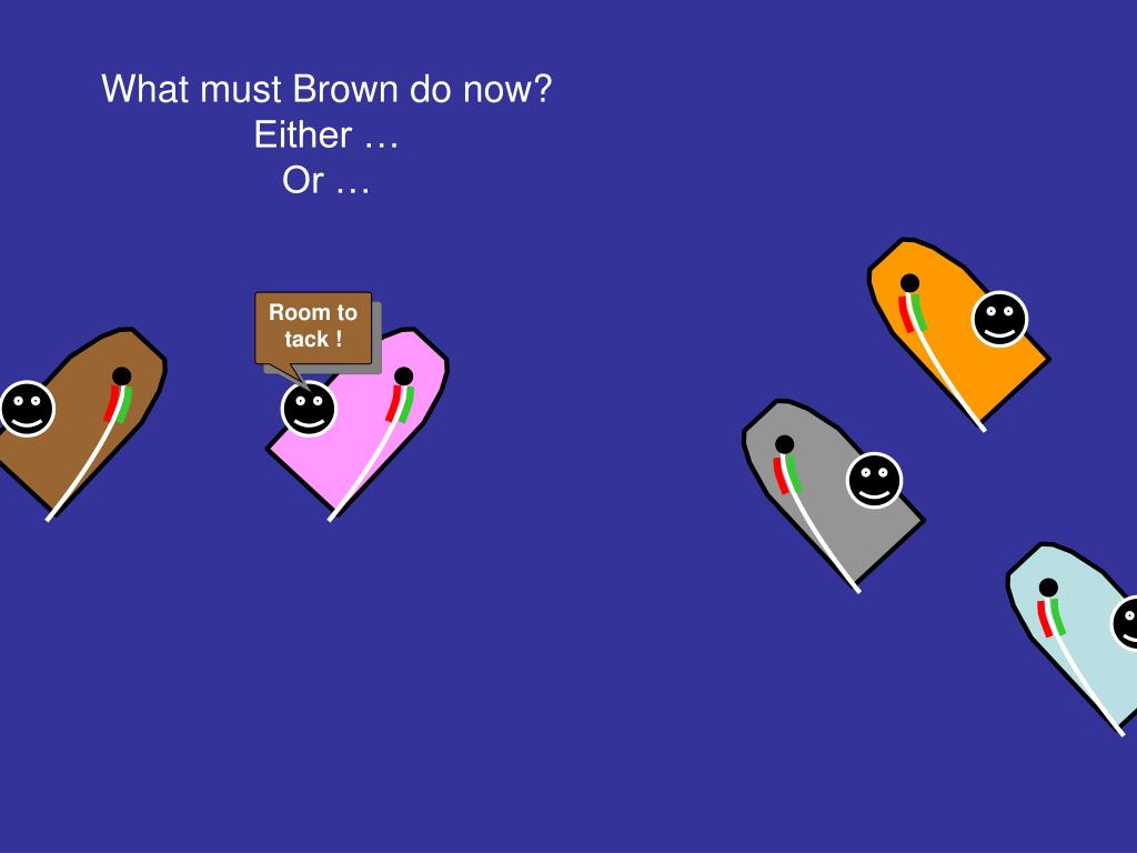 What must Brown do now?