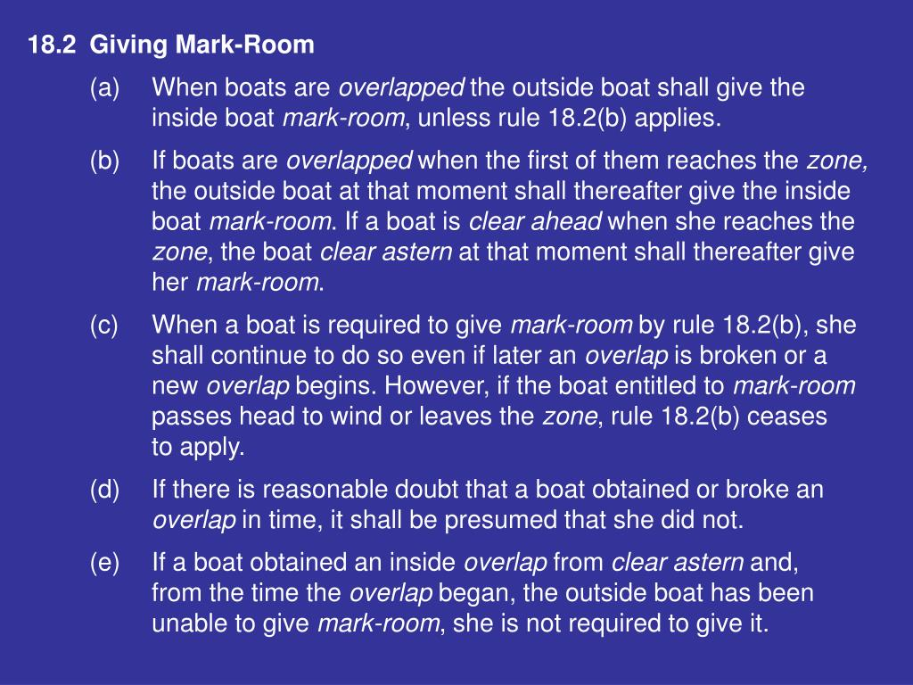 18.2Giving Mark-Room