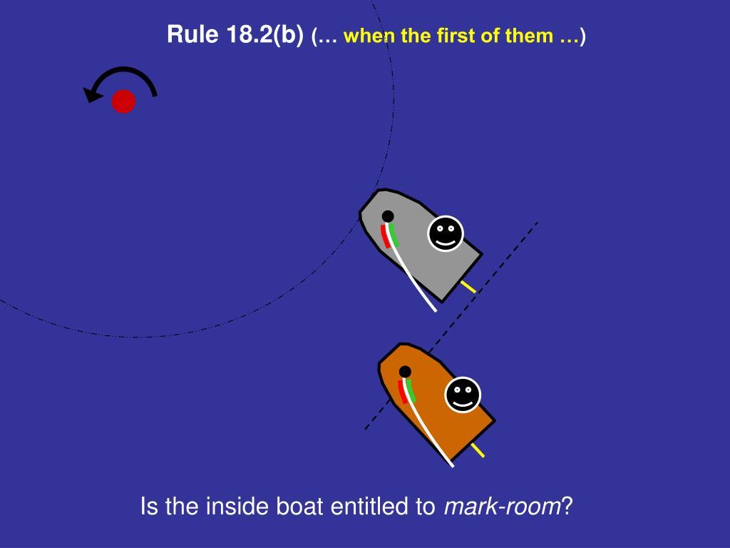 Rule 18.2(b)