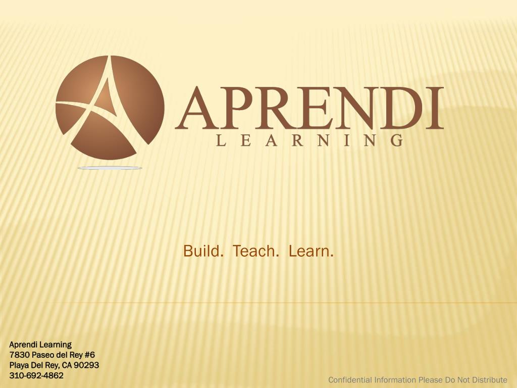 build teach learn l.