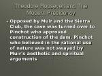 theodore roosevelt and the modern presidency27