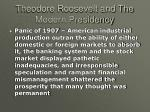 theodore roosevelt and the modern presidency29