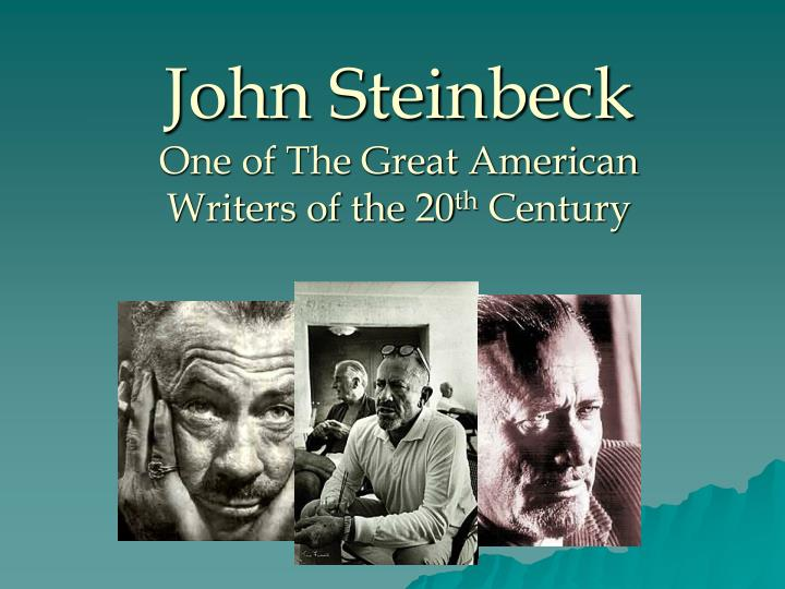 write about the ways in which steinbeck Breakfast by john steinbeck summary the story breakfast throws light on the fact that the most important thing is contentment if man has contentment, he can be happy even if he has no house, no permanent job, and no good food to eat once, the writer is going somewhere.