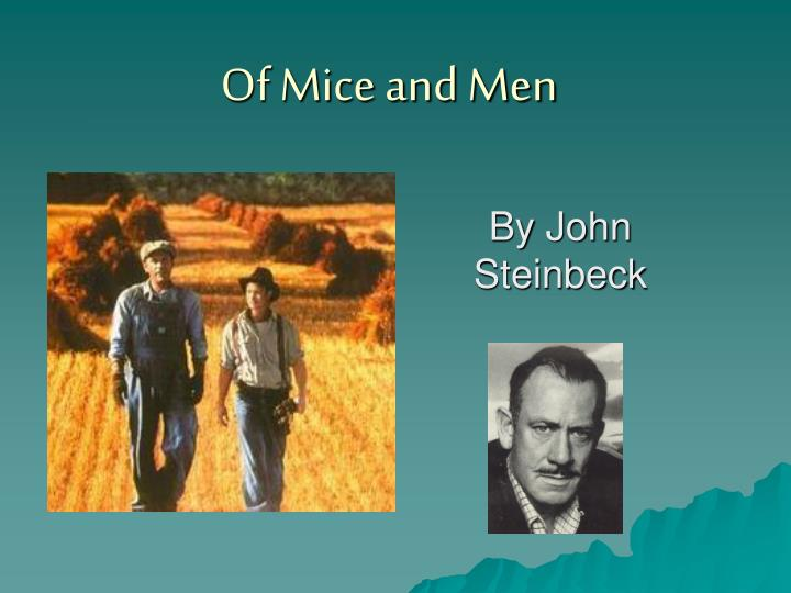 of mice and men n.